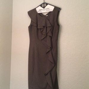 Calvin Klein gray dress